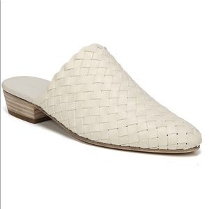 Vince Galena Woven Mules Size 7.5